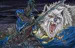 Colour Artorias the Abyss Walker and Sif