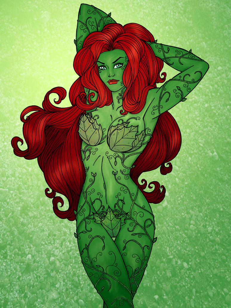 Poison Ivy - Lines by JamieFayX by insanitywolf-chan