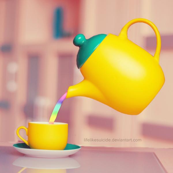 magic rainbow milk by lifelikesuicide