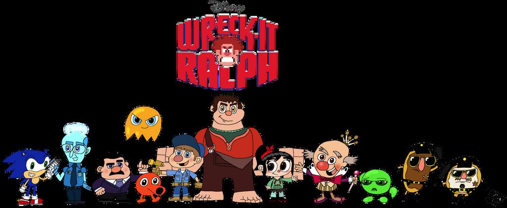 Wreck-It Ralph by DemoComics