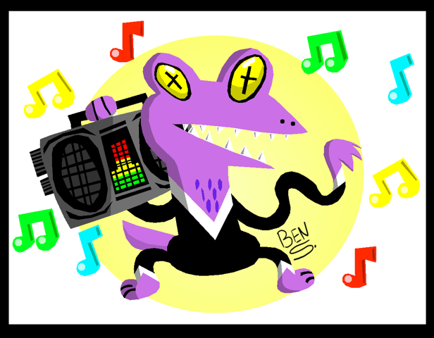 Dance Lizard by DemoComics
