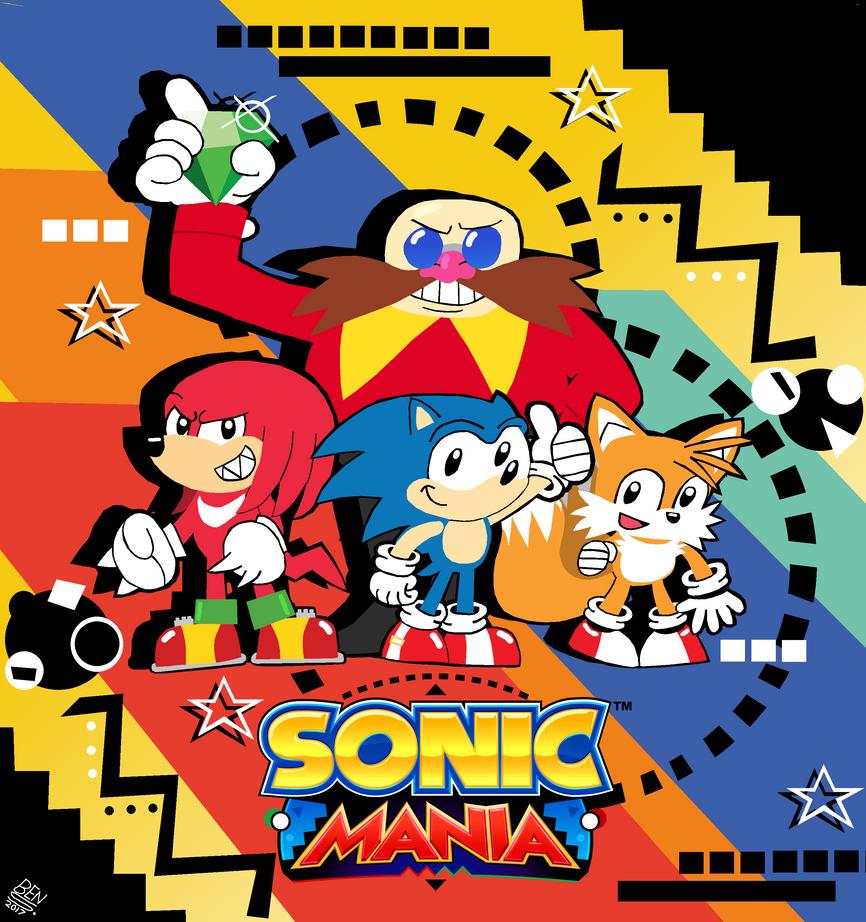 Sonic Mania by DemoComics
