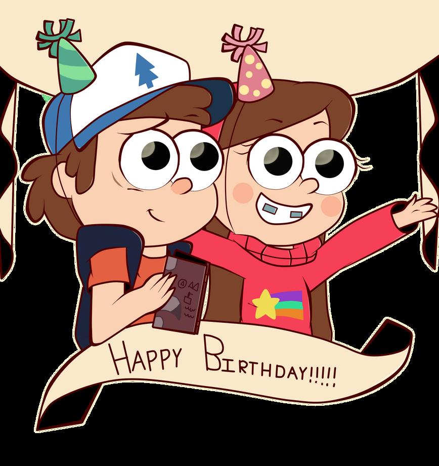 Happy Birthday Alex And Ariel By VioletWinged22