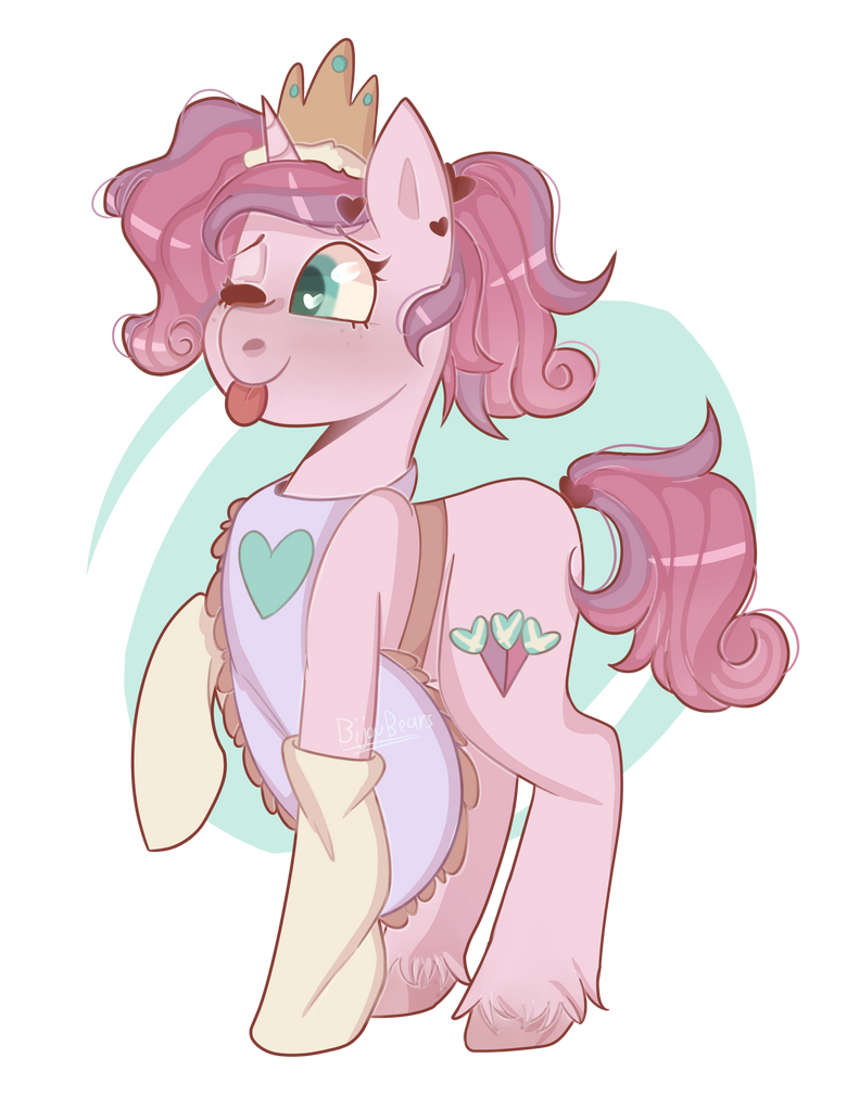 (Princess) Confectionery Hearts - MLP OC by VioletWinged22