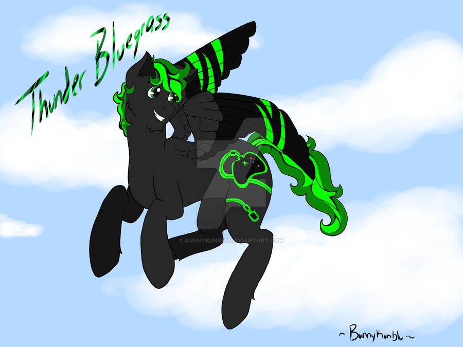 0kent Pony2 by Bunnykunblu