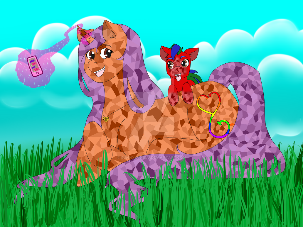 0steph Pony2 by Bunnykunblu