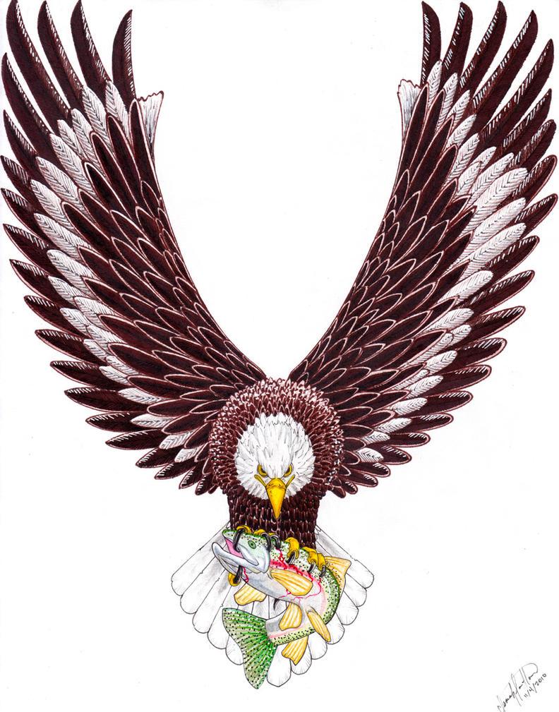 Eagle Tattoo Design by SpiderLAW on DeviantArt