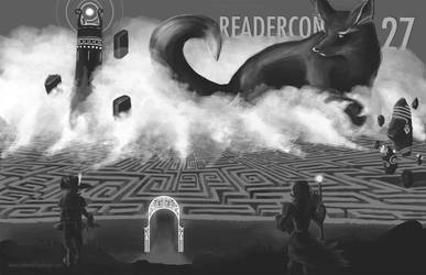 Readercon 27 cover by SweetNightmares
