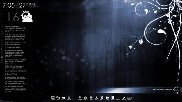 Desktop of TheSkylie by FearedAngel