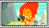 Flame Princess stamp