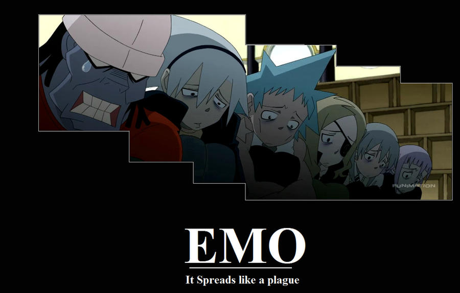 Anime Characters Born On February 9 : Soul eater emo by hitono kun on deviantart