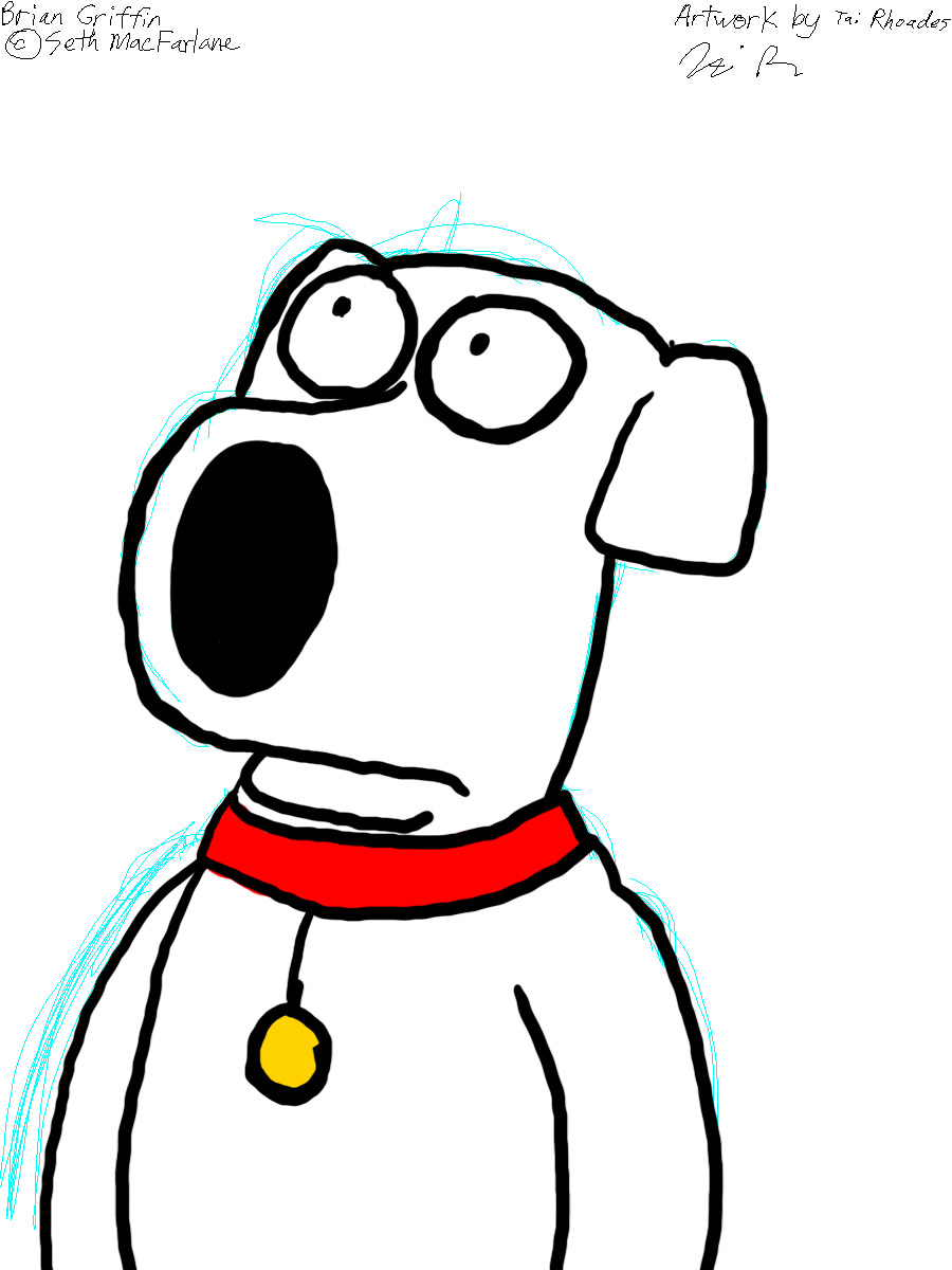 Tablet Practice: Brian Griffin by sonigoku