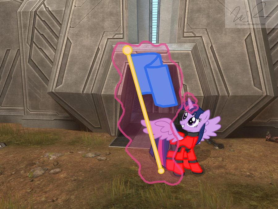 Princess Twilight Sparkle plays Halo CTF by sonigoku