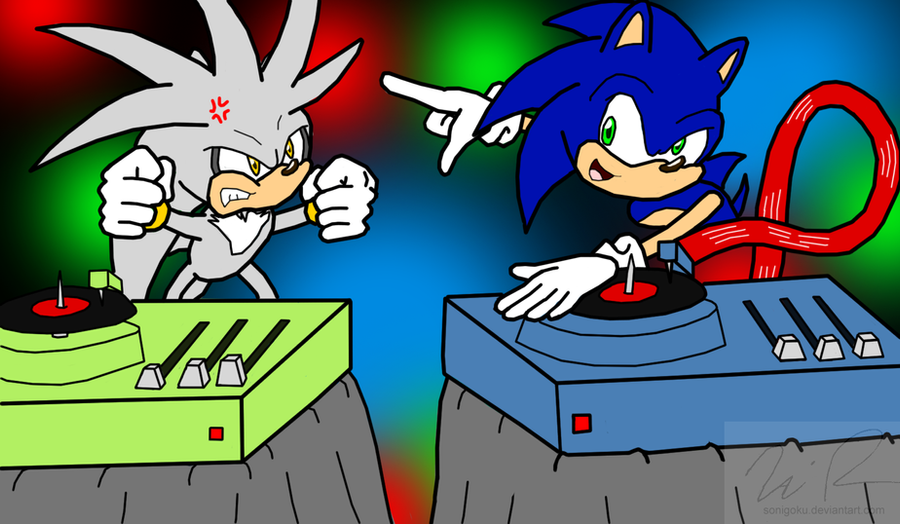 DJ Battle: Sonic VS. Silver by sonigoku on DeviantArt