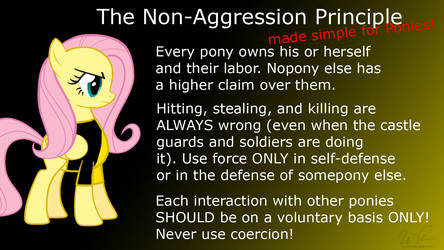 Non-Aggression Principle for Ponies by sonigoku