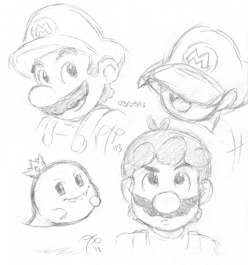 Mario And Prince Boo By Rainmaker113 On DeviantArt