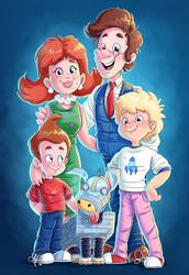 Neutron family collab by Rainmaker113