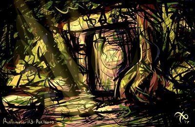 rainforest temple sketch by Rainmaker113