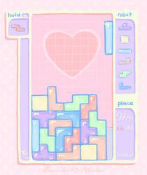 pastel tetris by Rainmaker113