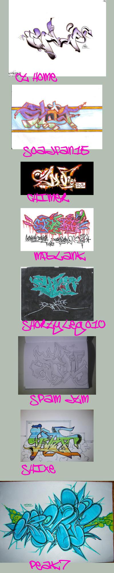 Splif by Graffiti-Battles
