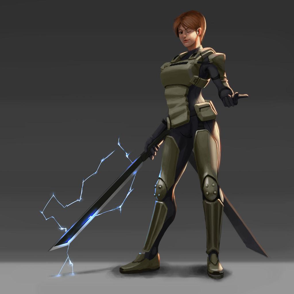 Lady Lightning Sword