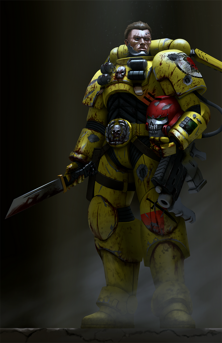 Imperial fist reiver by bobot073 on deviantart - Imperial fists 40k ...