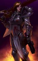Sister of Battle by Bobot073