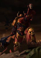 Blood for the Blood God! by Bobot073