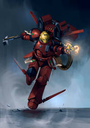 Deimos Assault Armour illustration