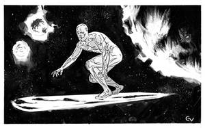 Silver Surfer by GIO2286