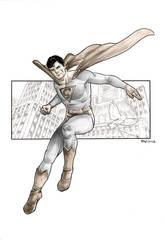 Superman Sketch by GIO2286