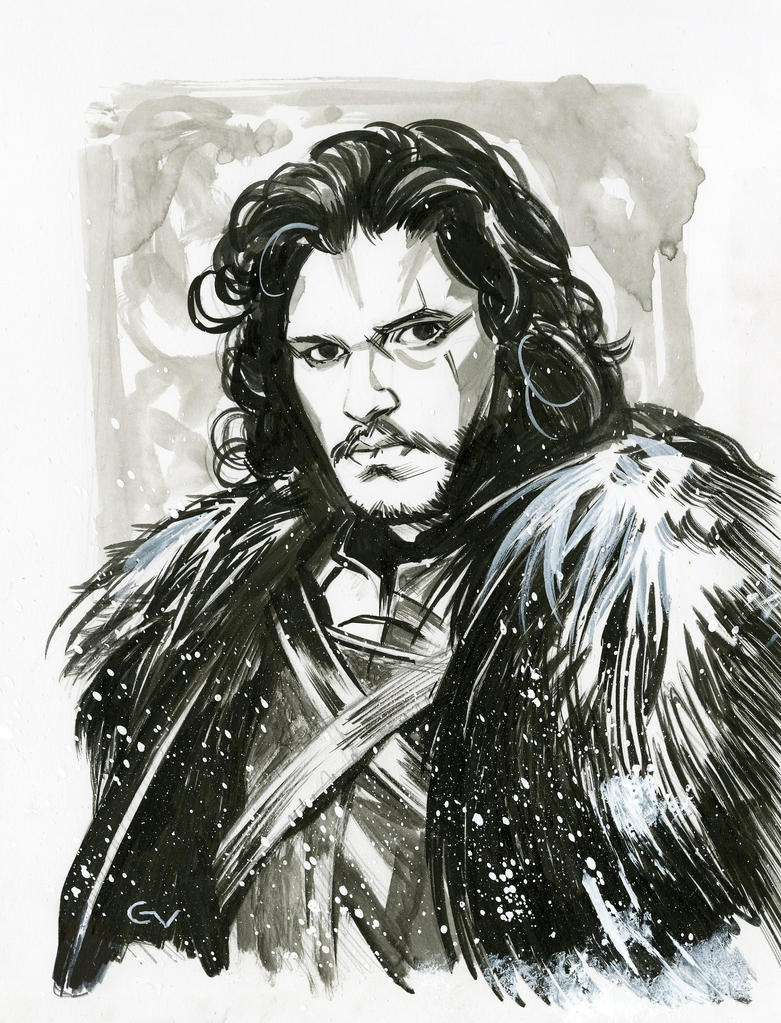 Jon Snow NYCC2015 commission. by GIO2286