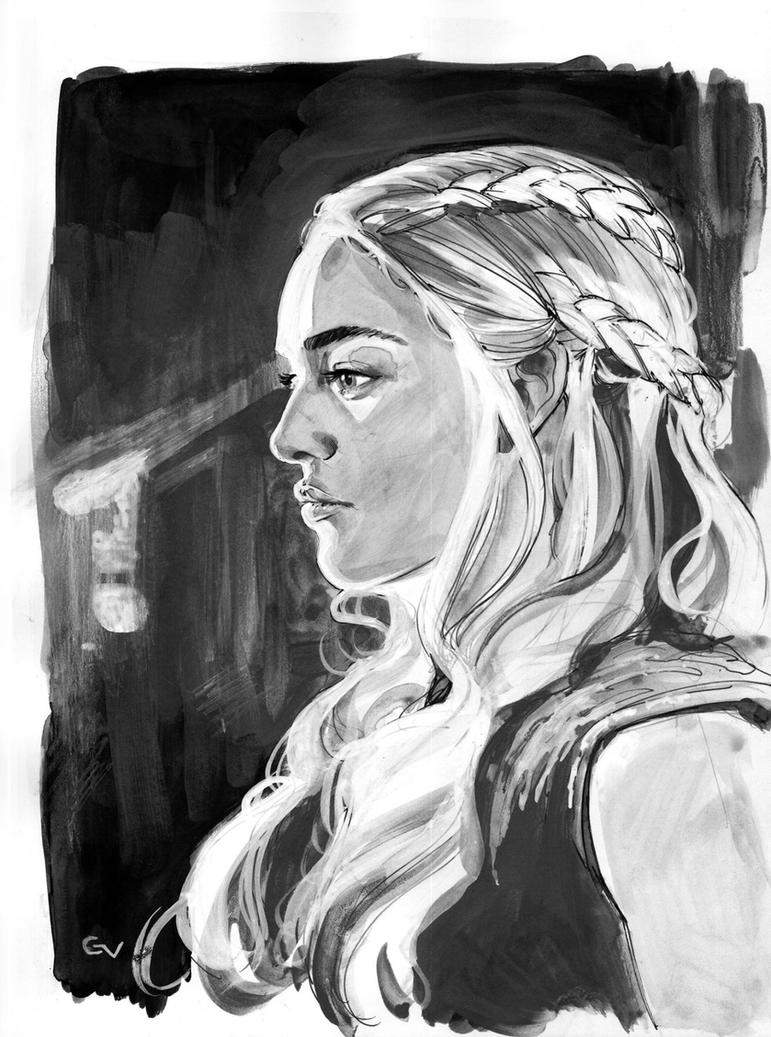 Mother of dragons by GIO2286