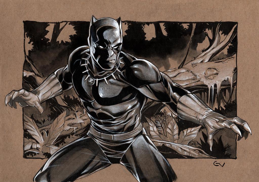 Black Panther By Portela On Deviantart: Black Panther By GIO2286 On DeviantArt