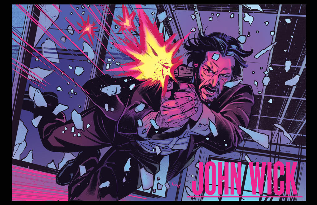 John Wick color by GIO2286