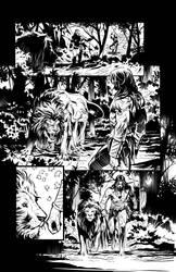 Pathfinder Tarzan one shot p11 by GIO2286