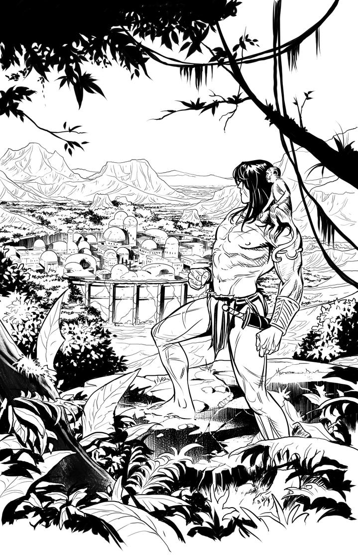 Pathfinder Tarzan one shot p1 by GIO2286