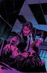 JohnWick #1 cover colors