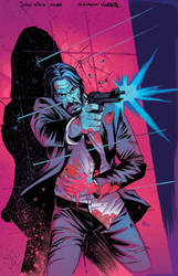 John Wick issue 2 cover colors
