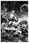 Hellboy commission.