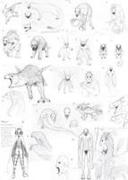 Sketch Dump by JoshuaDunlop