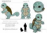 Squirtle Reference Sheet