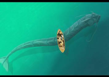 Sea serpant by JoshuaDunlop