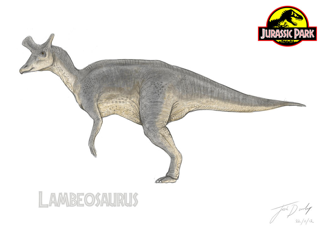 Jurassic Park: Lambeosaurus by JoshuaDunlop