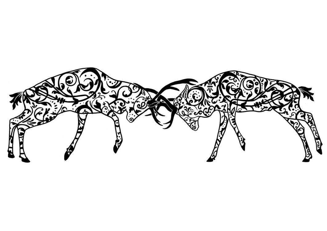 68a6bc7de Stag tattoo by JoshuaDunlop on DeviantArt