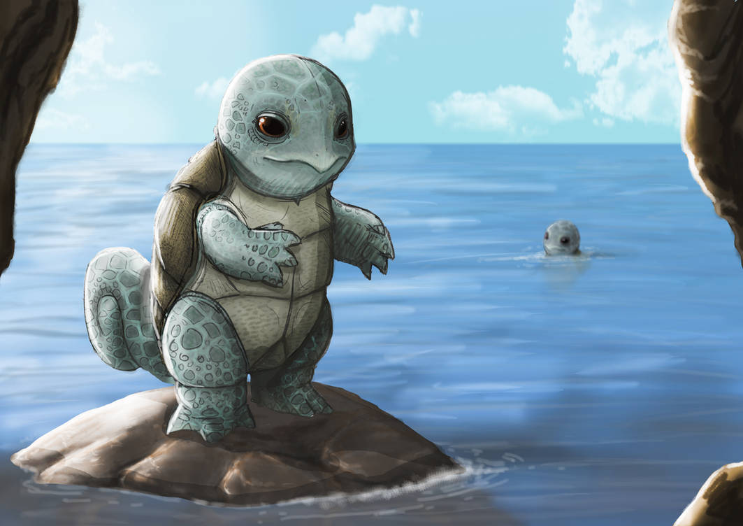 Squirtle by JoshuaDunlop