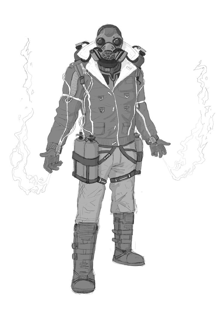 WIP- Pyro - Xmen Brotherhood by JoshuaDunlop