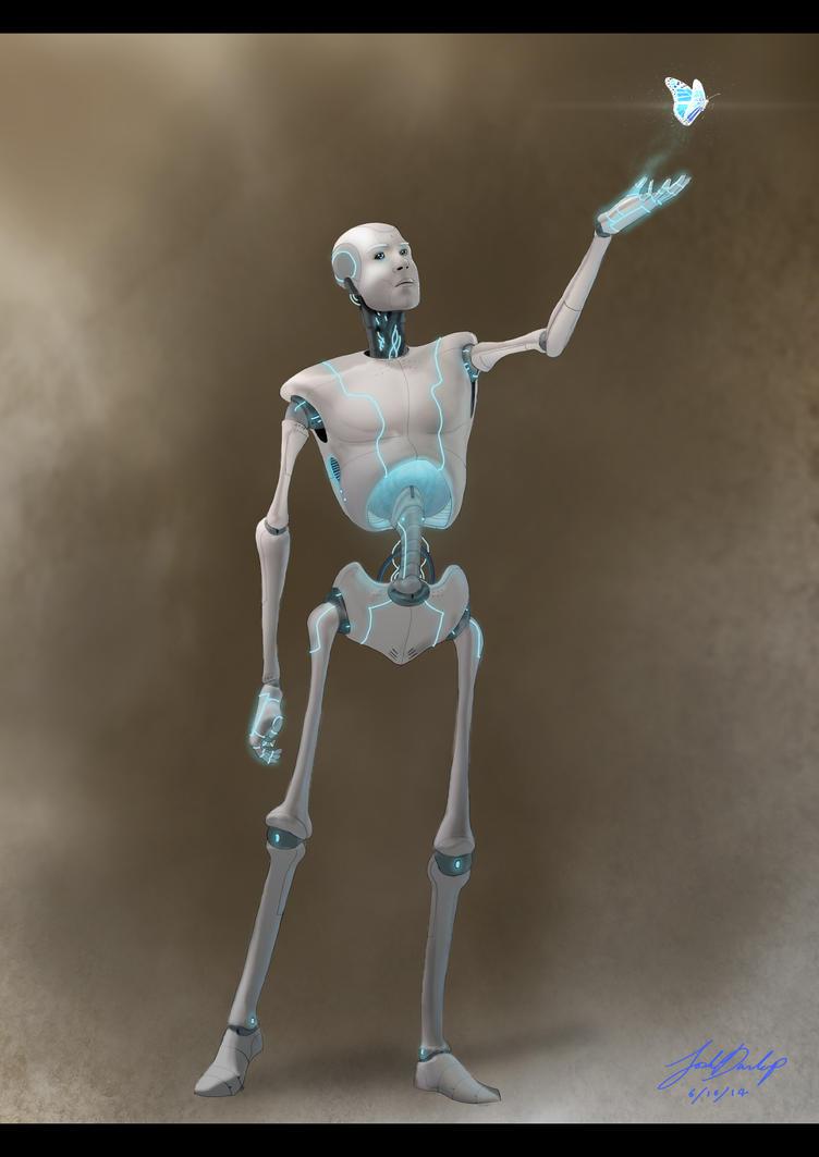 Robot by JoshuaDunlop