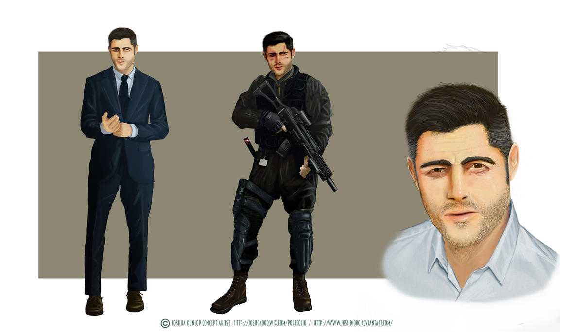 Main Character by JoshuaDunlop
