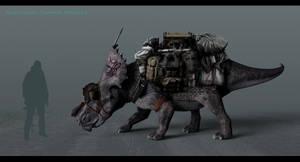 Transport Dinosaur by JoshuaDunlop